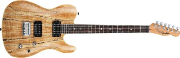 Fender Spalted Maple Custom Telecaster HH