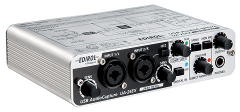EDIROL UA-25EX USB AUDIO INTERFACE