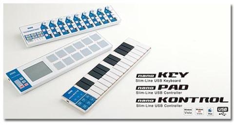 Korg Nano Series USB Controllers