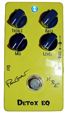Homebrew Paul Gilbert Detox EQ Pedal
