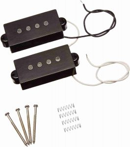 Black 4 String Electric Pickup