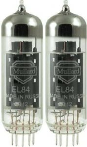 Mullard Matched Pair El84 Tube