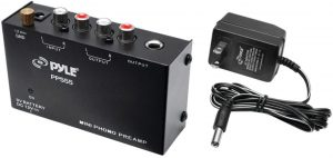 Pyle PP444 Mini Low Noise Phono Preamp