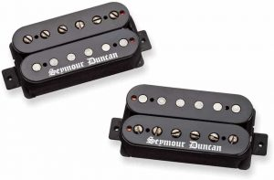 Seymour Duncan Black Winter Set Humbucker Guitar Pickup Black