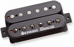 Seymour Duncan Black Winter Trembucker Electric Guitar Pickup Black Bridge