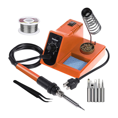 Vastar Soldering Iron with On-Off Switch Temperature Adjustable