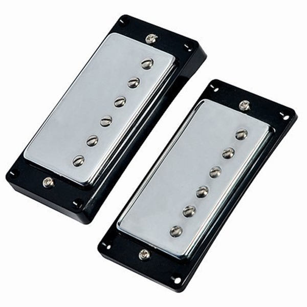 YMC Humbucker-Pickup-Chrome Humbucker Pickup Chrome for Les Paul Replacement