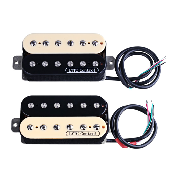 Rocket HZ5 Electric Guitar Humbucker Pickups for Gibson Les Paul Replacement (Neck & Bridge)