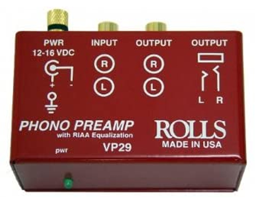 Rolls VP29 Red Phono Preamp