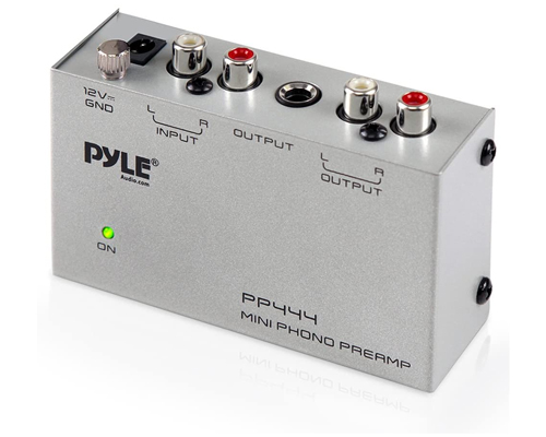 Pyle PP444 Mini Low Noise Phono Preamp | Best Budget Phono Preamp