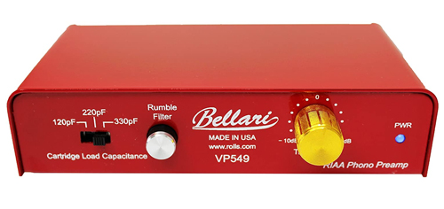 Rolls Bellari VP549 Phono Preamp | Best Budget Phono Preamp