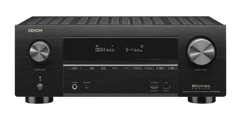 Denon AVR-X3500H 7.2-Channel 4K Ultra HD AV Receiver