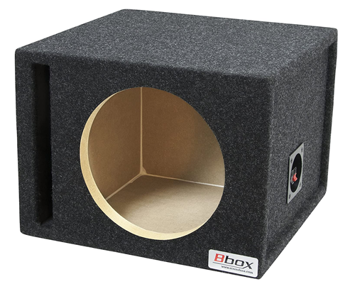 BBox Single Vented Carpeted Subwoofer Enclosure