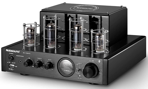 Nobsound HiFi Bluetooth Hybrid Tube Power Amplifier Stereo Subwoofer