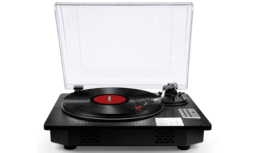 Record Player Turntable with Bluetooth