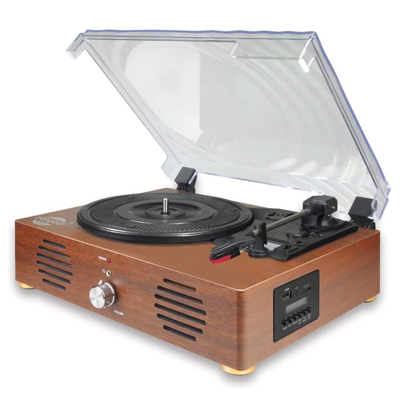 Record Player with Headphone Jack