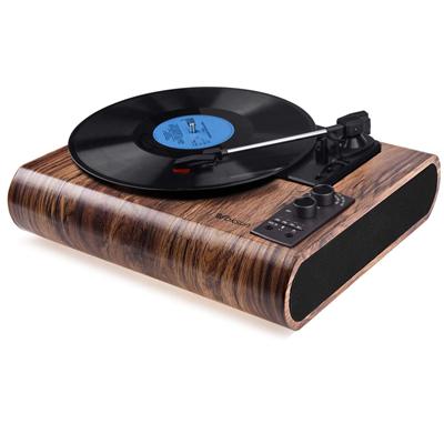 3-Speed Bluetooth Vinyl Player