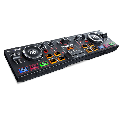 Ultra Portable Two Channel DJ Controller
