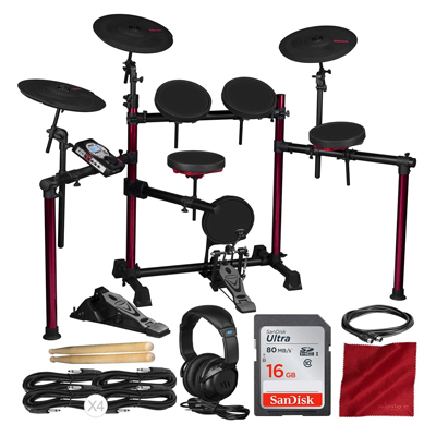 Drum Set with Accessory Bundle