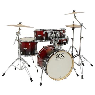 Jazz Drum Set - Crimson Fade