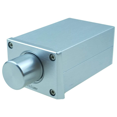 Stereo Audio Signal Volume Control knob attenuator