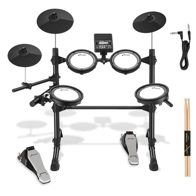 Eight Pieces Mesh Electric Drum