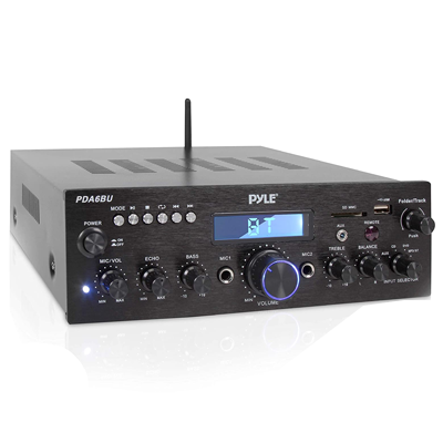 Pyle Compact Bluetooth Stereo Amplifier
