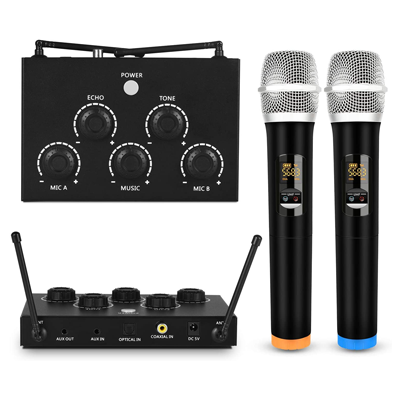 Dual UHF Wireless Mic
