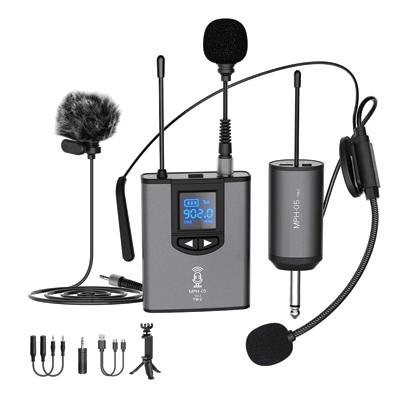 UHF Wireless Microphone System Headset