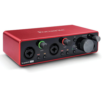 Focusrite Scarlett USB Audio Interface