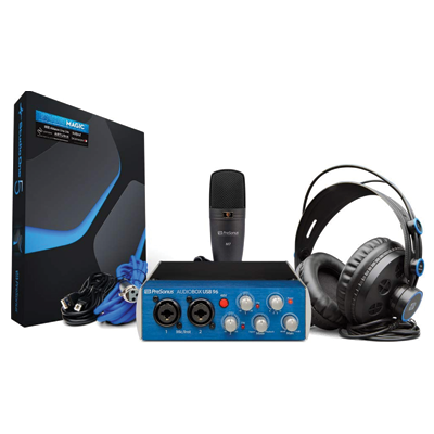PreSonus AudioBox Recording Bundle with Interface