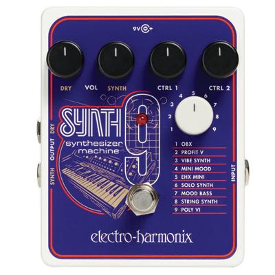Electro-Harmonix Synthesizer Machine Pedal