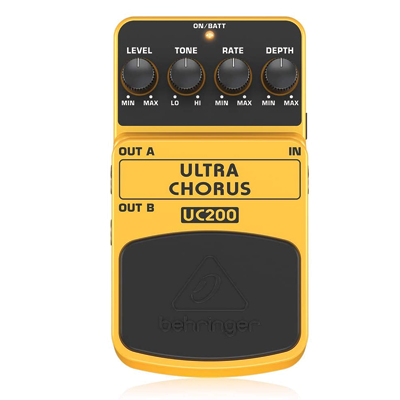 Ultimate Stereo Chorus Instrument Effects Pedal