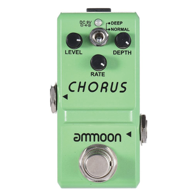 ammoon Nano Series Guitar Effect Pedal Analog Chorus True Bypass