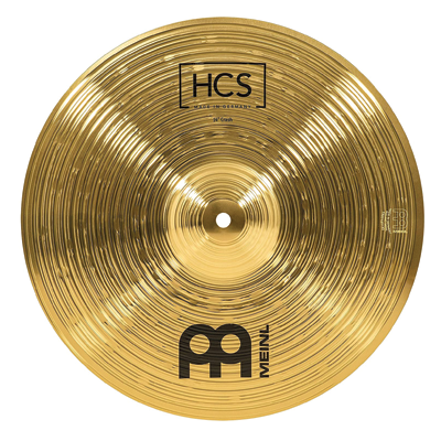 Meinl Percussion Cymbal – HCS Traditional Finish Brass for Drum Set