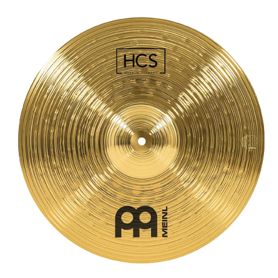 Meinl 16 inch Crash Cymbal – HCS Traditional Finish Brass for Drum Set