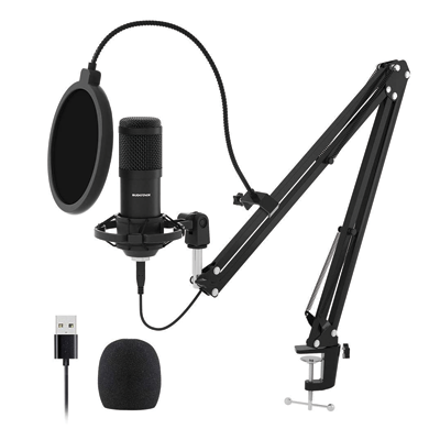 USB Streaming Podcast PC Microphone