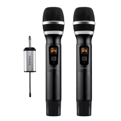 Hotec UHF Wireless Microphone Dual Microphone