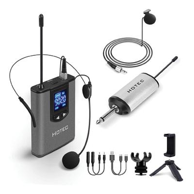 Hotec UHF Wireless Headset Microphone