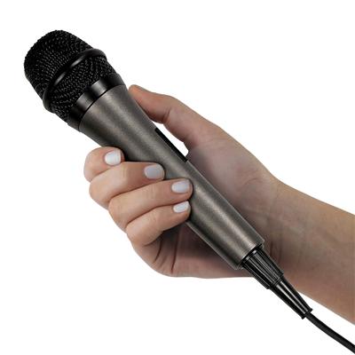 Singing Machine Unidirectional Dynamic Microphone