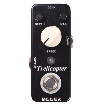 Mooer Trelicopter, tremolo pedal